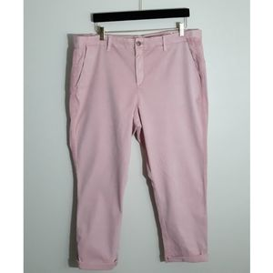 GAP Girlfriend Chino Light Pink Pants Size 16